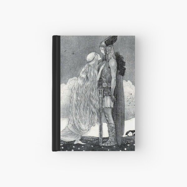 Freya and Svipdag - John Bauer Hardcover Journal