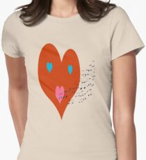 My Heart Can Sing Womens Fitted T-Shirt