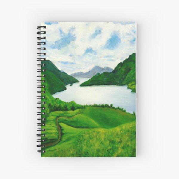Loch Lomond Peace Spiral Notebook