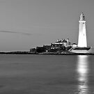 St Mary's Lighthouse by Michael Smith