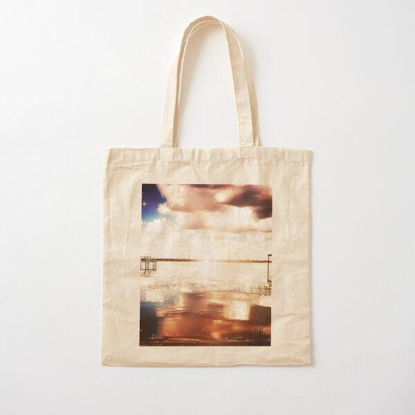 The Lake Cotton Tote Bag