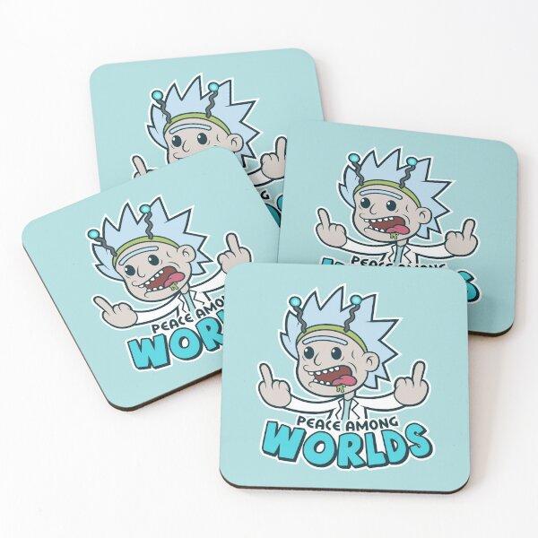 PEACE AMONG WORLDS Coasters (Set of 4)