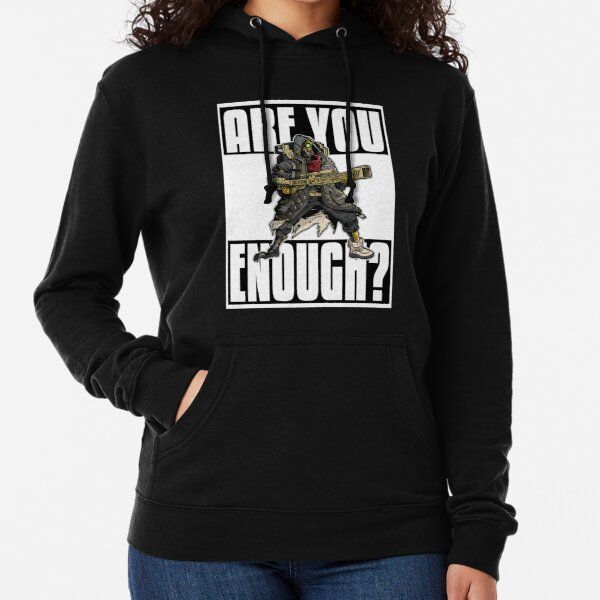 FL4K The Beastmaster Are You Enough? Borderlands 3 Rakk Attack! Lightweight Hoodie