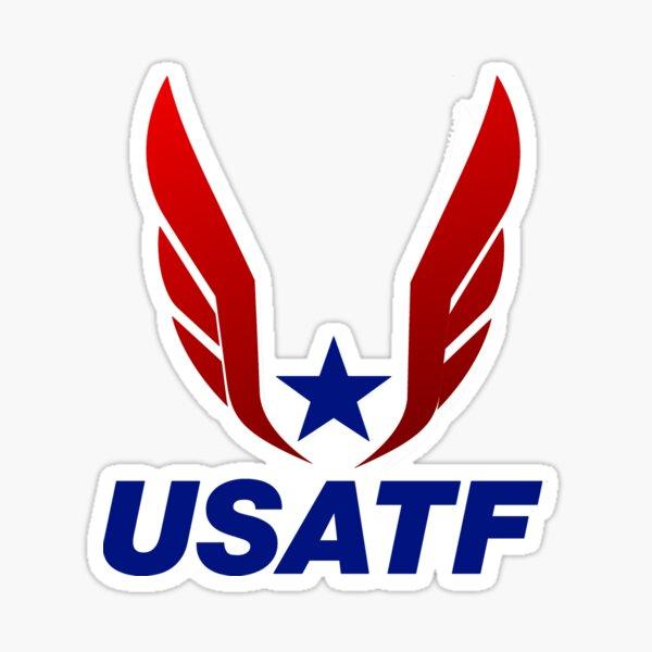 Team Usa Track And Field Logo Sticker