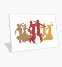 Colorful Flamenco Dancers Laptop Skin