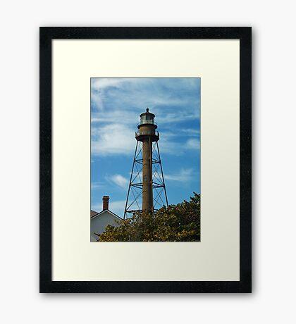 Sanibel Lighthouse 2011 Framed Print