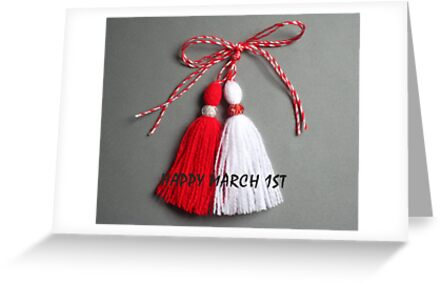 Baba marta granny march greeting cards by maria1606 redbubble baba marta granny march by maria1606 m4hsunfo