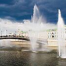 Vodootvodny channel. Windy day. by Andrey Kudinov