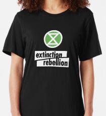 Top Selling Extinction Rebellion Merchandise Slim Fit T-Shirt