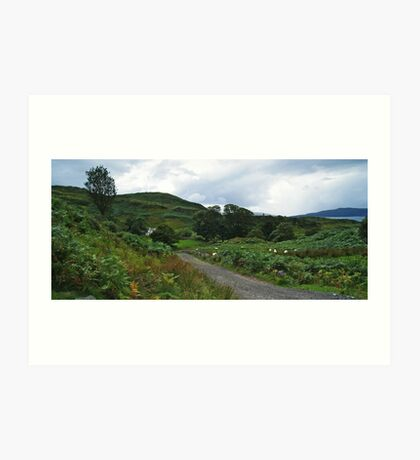 The Road to Barnabuck Art Print
