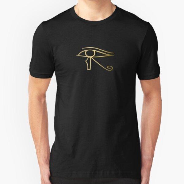 Eye of Horus Egyptian symbol Slim Fit T-Shirt