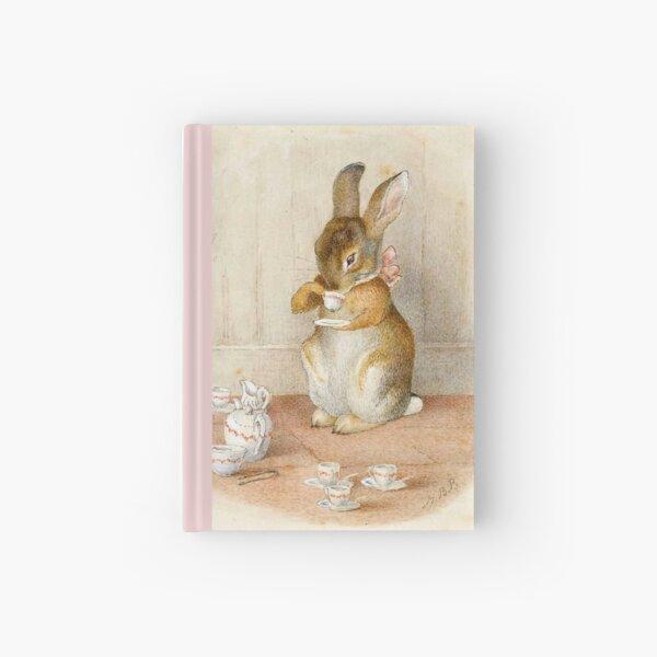 Rabbit Tea Party - Beatrix Potter Hardcover Journal