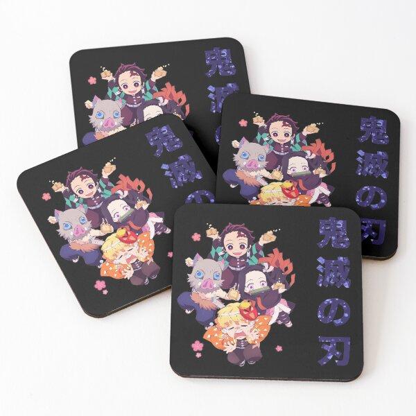 Demon Slayer Chibis Coasters (Set of 4)