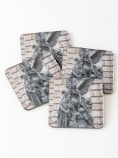 Allegorical statue of peace by Karoly Senyey Coasters