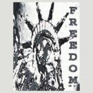 FREEDOM TEE-4 by DarrellMoseley