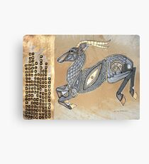 Leaps and Bounds (The Impala) Canvas Print