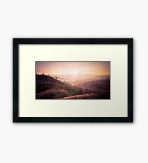 Outback Sunrise (full widescreen panorama) Framed Print