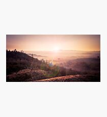 Outback Sunrise (full widescreen panorama) Photographic Print