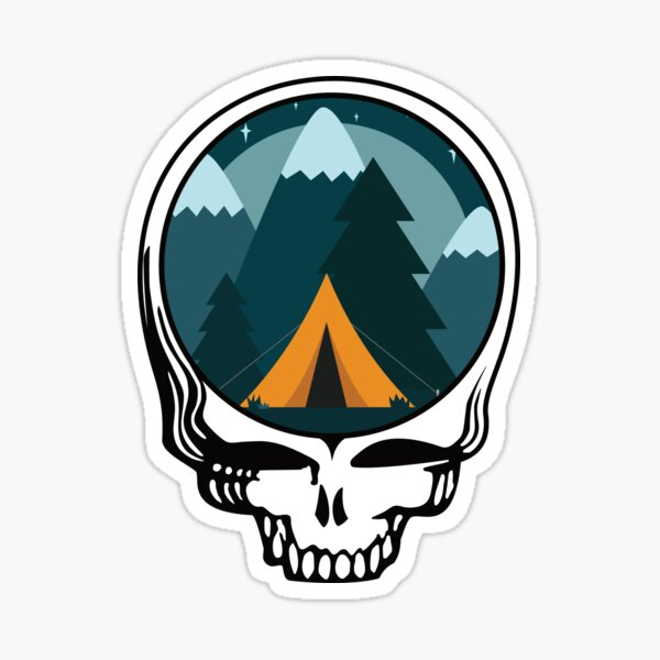 Steal Your Camp Site Sticker