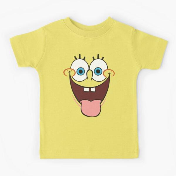 Kids Patrick Face Squarepants Starfish Cartoon Inspired Kids T-Shirt.