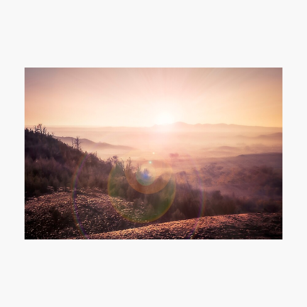 Outback Sunrise (3:2 standard view) Photographic Print