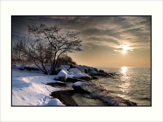 Winter morning on Lake Ontario, Toronto Canada by Eros Fiacconi (Sooboy)