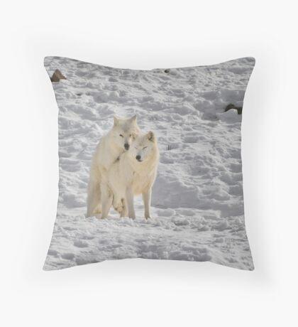 Doggy style... Throw Pillow