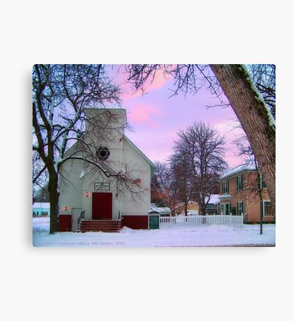 Old Time Religion Canvas Print