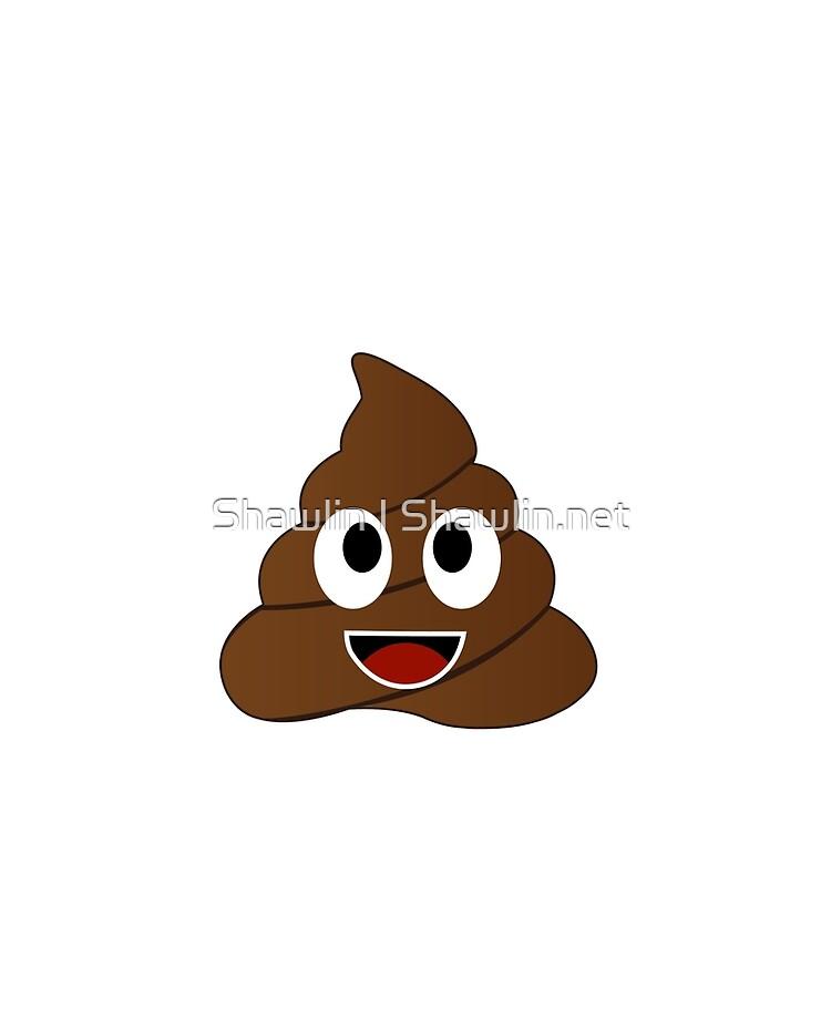 Funda Y Vinilo Para Ipad Humor Mierda Caca Emoji Divertido Y Kawaii Personaje De Amelislam Redbubble