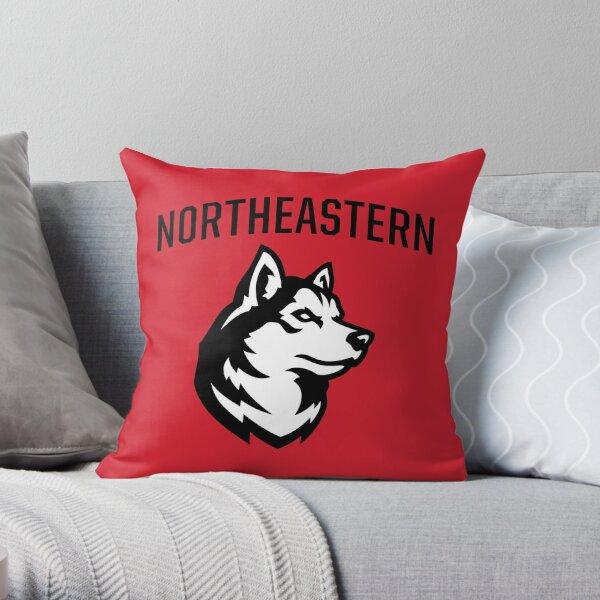 The Northeastern Huskies Throw Pillow