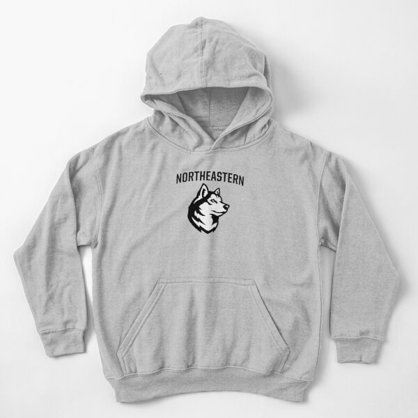 The Northeastern Huskies Kids Pullover Hoodie
