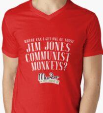 Communist Monkeys - MITLOO V-Neck T-Shirt