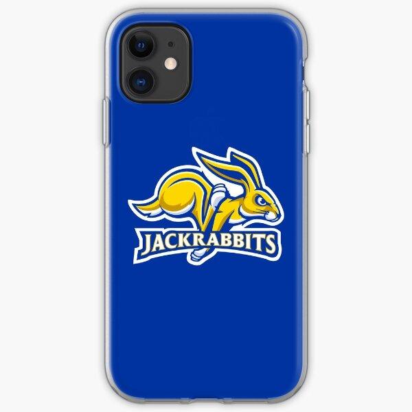 The South Dakota State Jackrabbits iPhone Soft Case