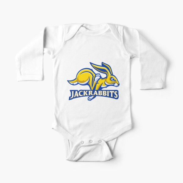 The South Dakota State Jackrabbits Long Sleeve Baby One-Piece