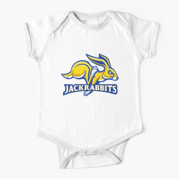 The South Dakota State Jackrabbits Short Sleeve Baby One-Piece