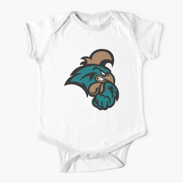 The Coastal Carolina Chanticleers Short Sleeve Baby One-Piece