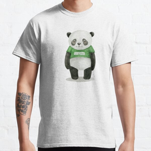 végétalien T-shirt classique
