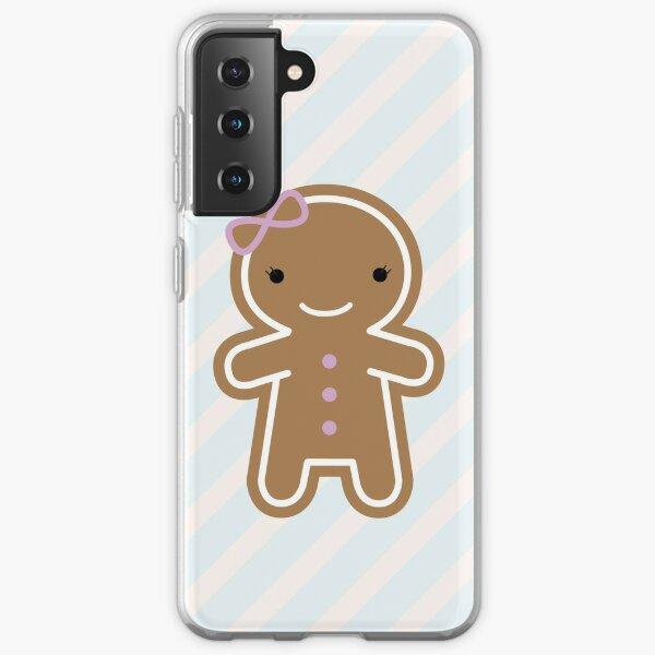 Cookie Cute Gingerbread Girl Samsung Galaxy Soft Case