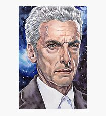 The Doctor (Peter Capaldi) Photographic Print