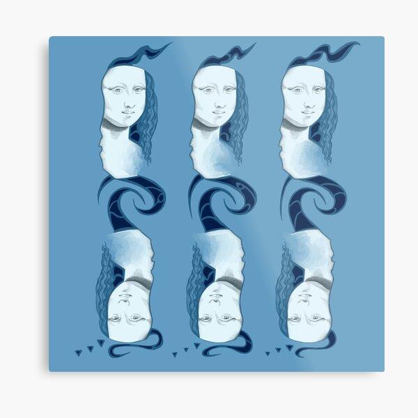 Mona Lisa 112 Metal Print
