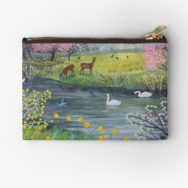 By Spring River Zipper Pouch
