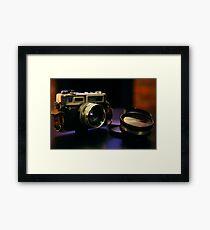 Retro DSLR Framed Print