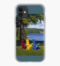"""Palisades"" oil painting by Reed Prescott iPhone Case"