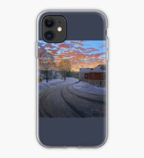 """Sunrise in the Center"" by Reed Prescott iPhone Case"