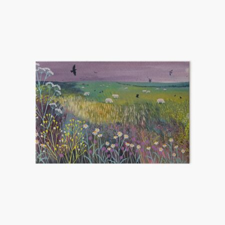 Meadow Breeze Art Board Print
