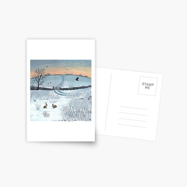 Winter Dawn Postcard