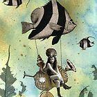 Valenzia and her Angelfish Racer by WinonaCookie