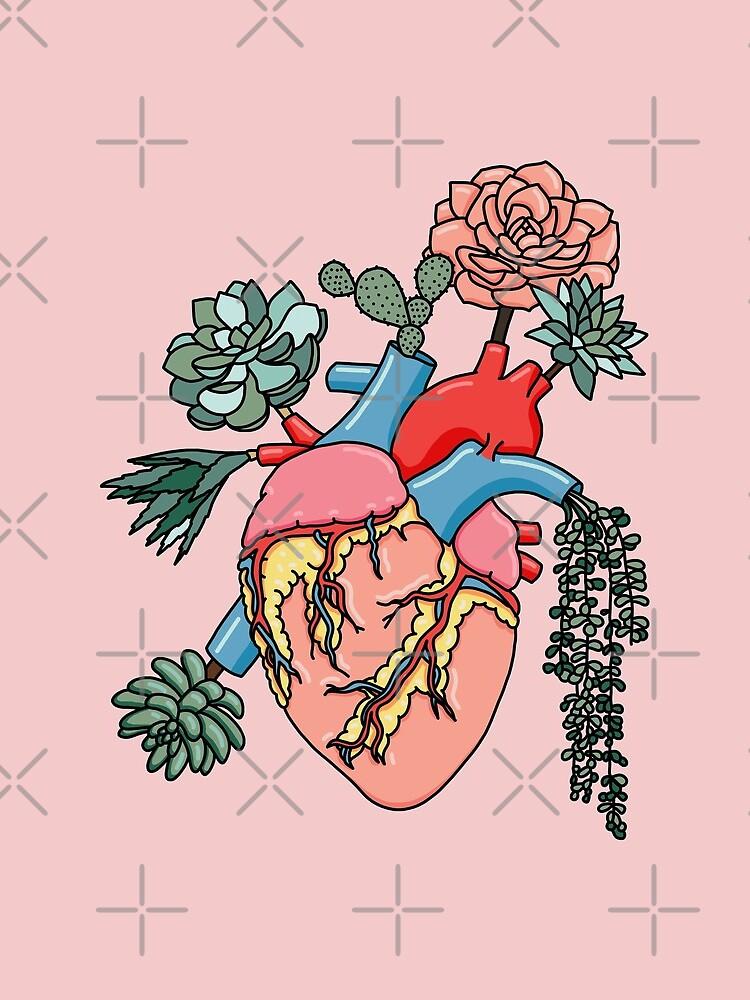 Succulent heart by Sasa Elebea by elebea