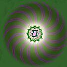 Heart Chakra ~ Green ~ Anahata ~ Male by JuliaKHarwood
