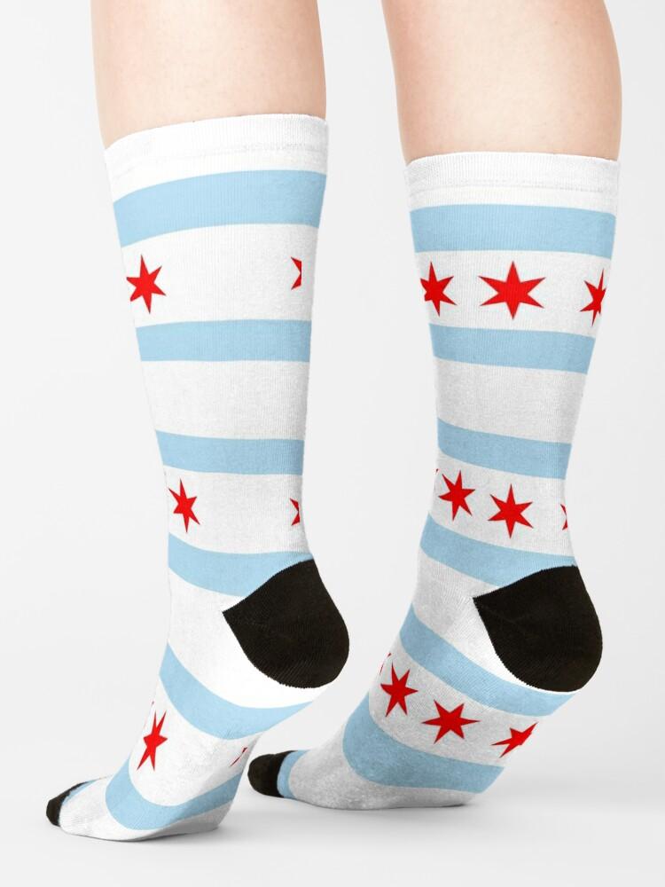 Alternate view of Flag of Chicago Socks